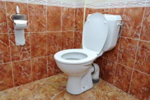 Καθαρή τουαλέτα μετά από απόφραξη